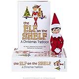 The Elf on the Shelf - Luz para niña, Color Rojo y Blanco