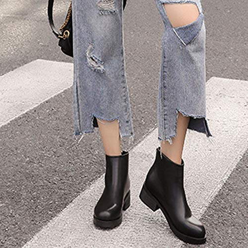 Chelsea Zurück Winter Outdoor Stiefel Echtleder Flachen Frauen Stiefel Boden Für Martin Damen Booties Stiefeletten Reißverschluss Sw8CqYUCx