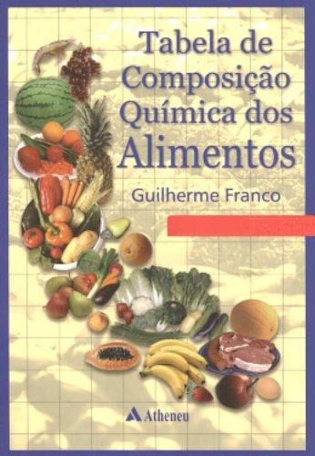 Tabela de composi o qu mica dos alimentos pdf guilherme v for Quimica de los alimentos pdf