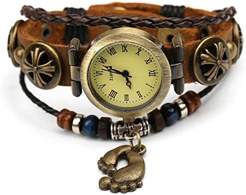 Vintage Relojes De Pulsera Brazalete, Señoras Relojes, Relojes De Cuero, Vintage Pie Pulseras, Relojes Antiguos