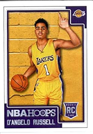fac52ddecf2 2015-16 Panini Stickers  368 D Angelo Russell Los Angeles Lakers Rookie  Basketball