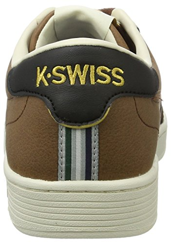 K-Swiss Men's Hoke CMF Low-Top Sneakers, White White (Mustang/Ecru/Black)