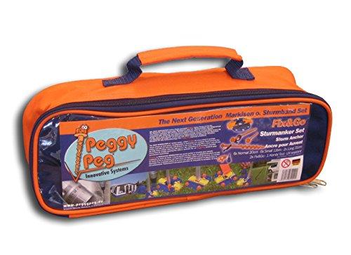 Peggy Peg Sturmanker Set 30-Teilig, 30836