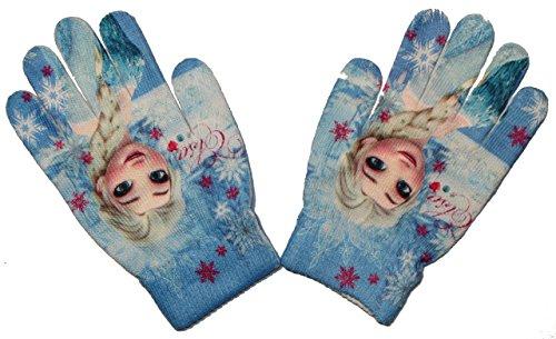 Disney Frozen Die Eiskönigin Kinder ONE SIZE Handschuhe (Blau)