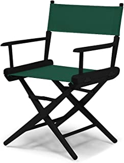product image for Telescope Casual World Famous Dining Height Director Chair, Forest Green with Black Frame