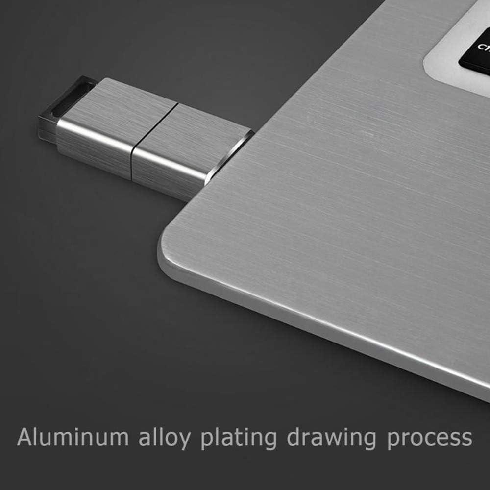 Memory Data Storage Device Pen Stick Rectangle Mini Water Resistant Pen Drive Memory Stick QYY 32//64//128//256GB Portable Metal USB 3.0 U Flash Drive