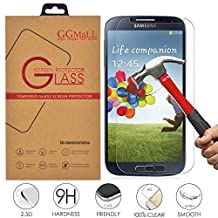 Galaxy S4 Screen Protector, GG MALL® Genuine Anti Scratch Explosion Proof Protective Tempered Glass Screen Protector for Samsung Galaxy S4 GT-i9505 i9500 (with Retail Package)