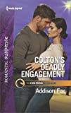 Download Colton's Deadly Engagement (The Coltons of Red Ridge Book 2) in PDF ePUB Free Online