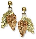 Landstroms 10k Black Hills Gold Earrings, for Pierced Ears - ER447