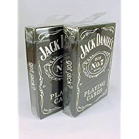 Bicycle Jack Daniels Old No 7 Brand Playing Cards (Pack of 2)