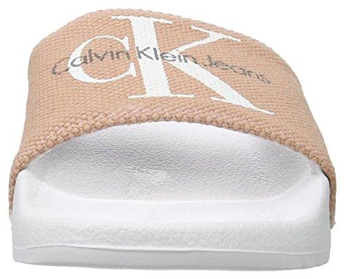 Chantal Canvas Rose Mules Jeans Heavy Calvin Klein dusk Femme qUvHE