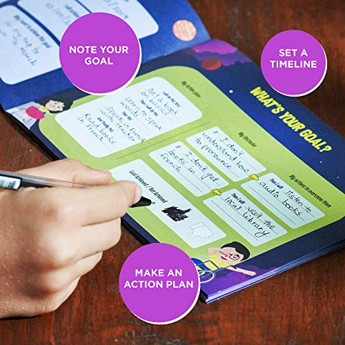 Toiing Goal Mapper - Planning & Goal Setting Kit for Kids (8 to 12 Year Old)