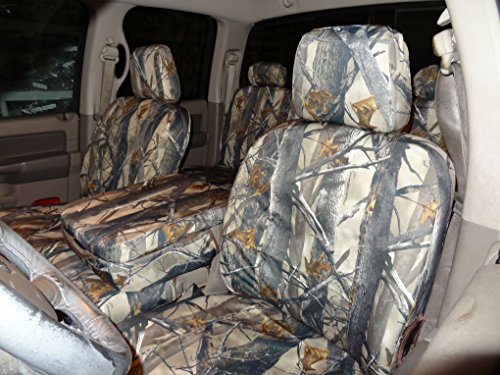 Durafit Seat Covers DS1 Camo Velour 2009-2012 Dodge Ram 1500/ 2010-2012 2500/3500...