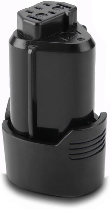 Exmate 12V 2,5Ah Batería de repuesto de iones de litio para AEG L1215 L1215P L1215R R86048 BLL12C BS12C BS12C2 BSS12C BWS12 BWS12CBWS