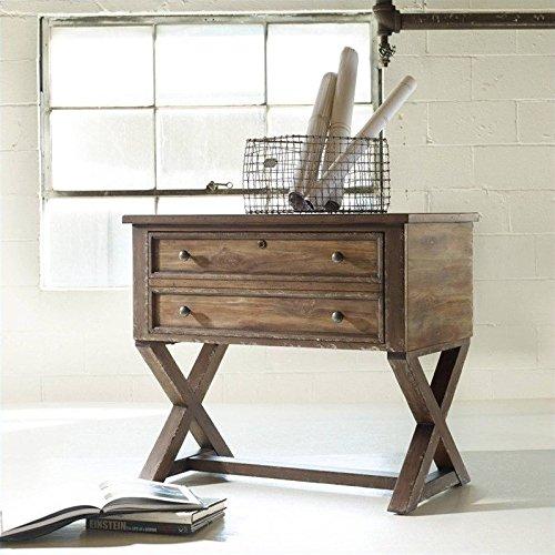 Hooker Furniture Melange Bennett X-Base Lateral File in Distressed