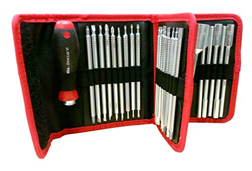 Wiha 28188 Drive Loc Interchangeable 32 Piece