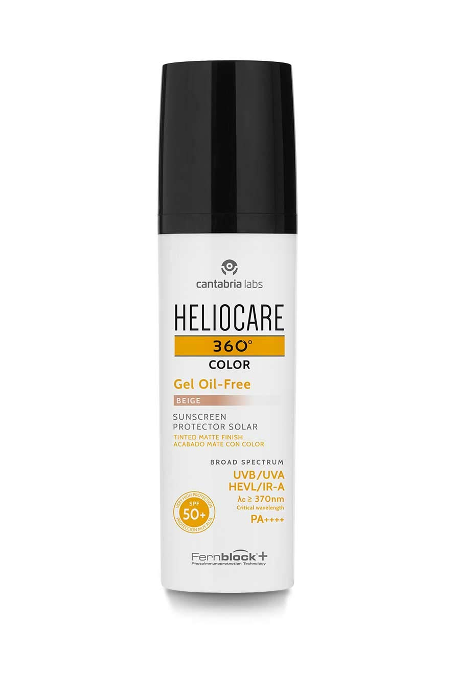 Heliocare Heliocare 360 Color Gel Oil Free Beige 50Ml: Amazon.es ...