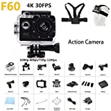 4K Action camera F60 Allwinner V3 4K/15fps 1080P sport WiFi...