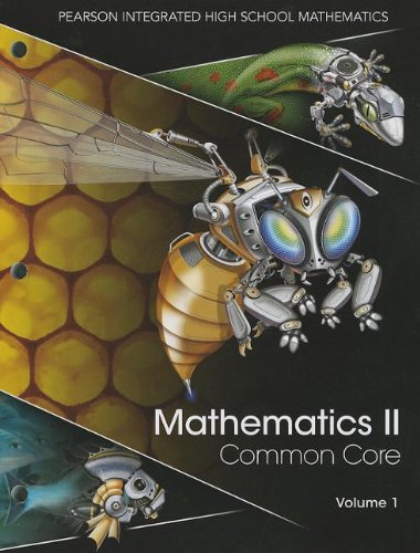 Mathematics II, Volume 1: Common Core