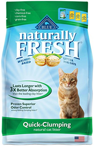 Blue Buffalo Naturally Fresh Clumping Cat Litter, 14 lb