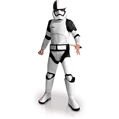 Star Wars Episode VIII - The Last Jedi Deluxe Executioner Trooper Child Costume: Toys & Games