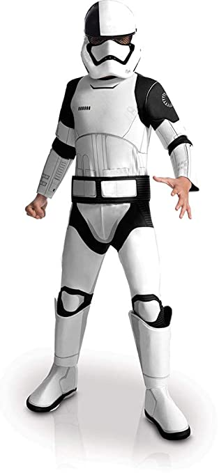 Rubies Star Wars Episode VIII: The Last Jedi, Childs Deluxe Executioner Trooper Costume, Medium