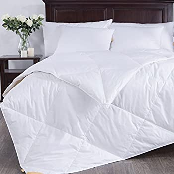 puredown lightweight down comforter light warmth duvet insert full queen size. Black Bedroom Furniture Sets. Home Design Ideas