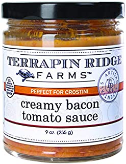 product image for Creamy Bacon Tomato Topper Sauce by Terrapin Ridge Farms – One 9 oz jar