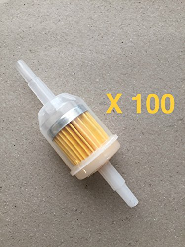 "Universal Fuel Filters (Clear for 1/4"" 5/16 Fuel Line) Kohler, Honda and Others - Also sold in lots of 10 or 2. Search for ""Gentap"" in Amazon search bar to see all filter options"