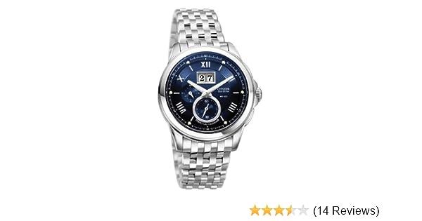 Amazon.com: Citizen Mens BT0000-58L Eco-Drive Calibre 3100 Twin Date Watch: Citizen: Watches