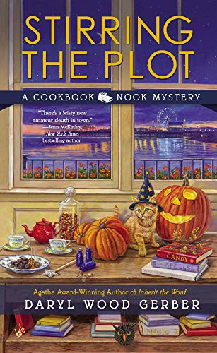 Stirring the Plot (A Cookbook Nook Mystery 3) -