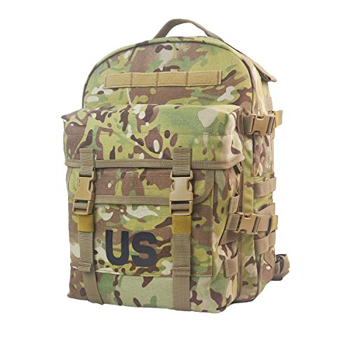US Molle II Military Multicam Cordura 3 Day Assault Pack Tactical Backpack for Hunting Hiking by AKmax.cn