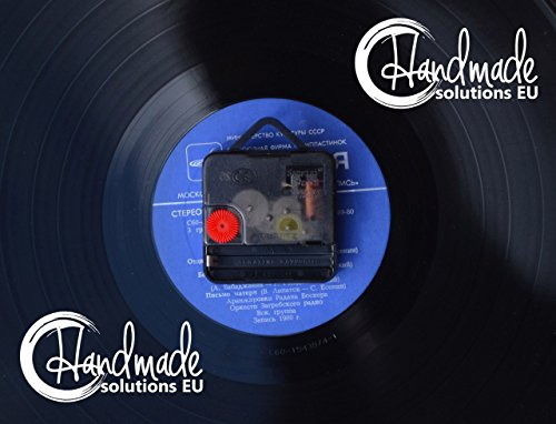 Handmade Solutions EU Steampunk Vinyl Wall Clock Heart Mechanical Art Modern Ornaments Mechanism Cogs and Wheels Gear Engineer Fathers Gift Kitchen Accessories Art Home Decor Design 5