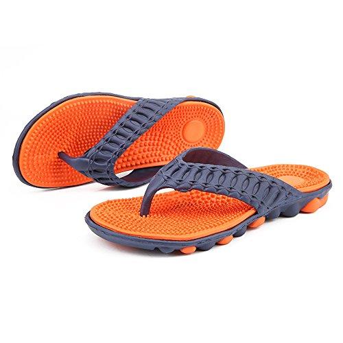 de Outdoor de Trail de Playa Hombres Comfort Sandalias Ligero Calzado Chanclas Playa Shoes Para Naranja01 MeiPing Water Agua 65OYq6