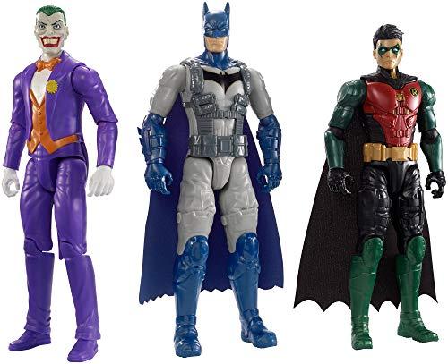 Batman Missions True-Moves Batman & Robin vs. The Joker Figures, 12