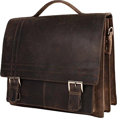 Man Harold's Brown Brown Shoulder Leather Bag nqUFB7UO