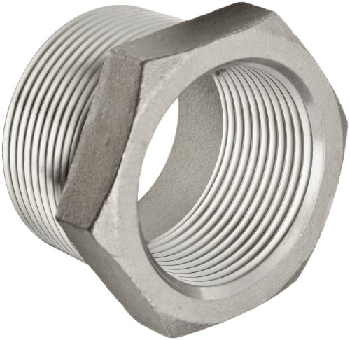 Class 150 Cast - Stainless Steel 304 Cast Pipe Fitting, Hex Bushing, Class 150, 1-1/4