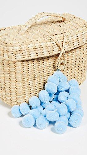 Light Blue Nannacay Clutch Off Women's Rogue White Baby qq0FYrR