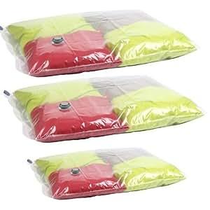Idebox GLO6199 - Juego de 3 bolsas para organizar la ropa en la maleta