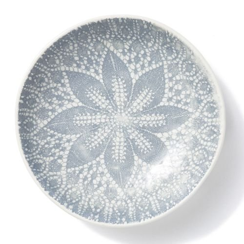 Viva Lace Pasta Bowl - Gray - Noodle Lace