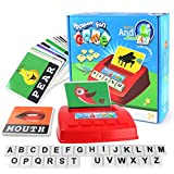 Alphabet Letters and Numbers, Falaiduo ABC Alphabet Letter Learning Gift Educational Set for Kids (Red)