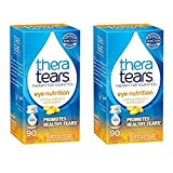 TheraTears Eye Nutrition- 90 Count- Omega 3 Supplement - 2 Pack