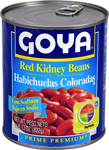 Goya Foods Red Kidney Beans Low Sodium, 29 -