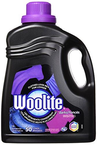 Woolite DARKS Liquid Laundry Detergent, 100 fl oz Bottle, With Color Renew, HE & Regular Washers - Laundry Detergent For Dark Colors
