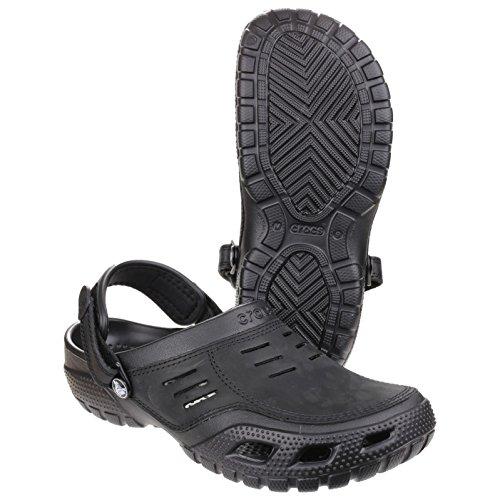 Crocs Yukon Sport Sabot M, Zoccoli e sabot, Unisex Adulto Nero
