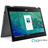 Acer Spin 5 SP513-52N-85DC, 13.3 Full HD Touch, 8th Gen Intel Core i7-8550U, Amazon Alexa Enabled, 8GB DDR4, 256GB SSD, Convertible, Steel Gray