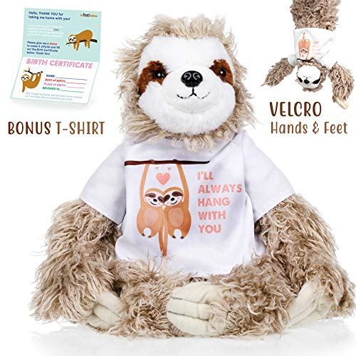Sloth stuffed animal The