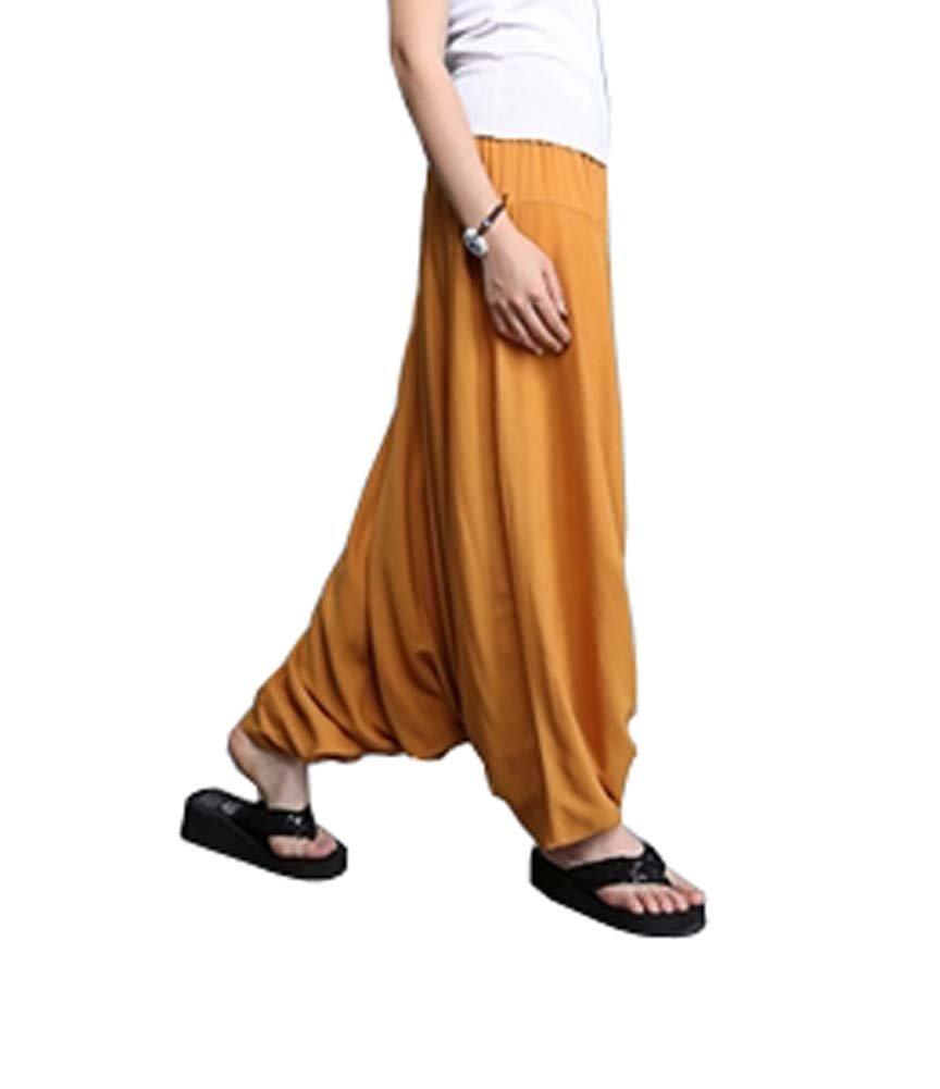 Sagging Pants Yoga Pants Sunscreen Breathable Travel Home Loose Pants