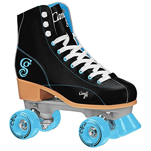 Roller Derby Elite Candi Girl Women's Sabina Roller Skates, Black/Teal, Size (Women Outdoor Roller Skates)