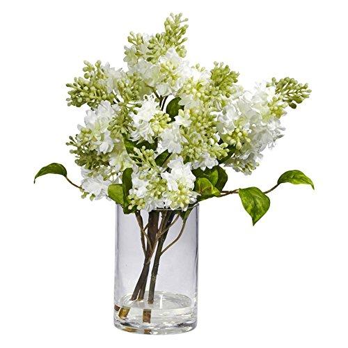 White-Lilac-Silk-Flower-Arrangement